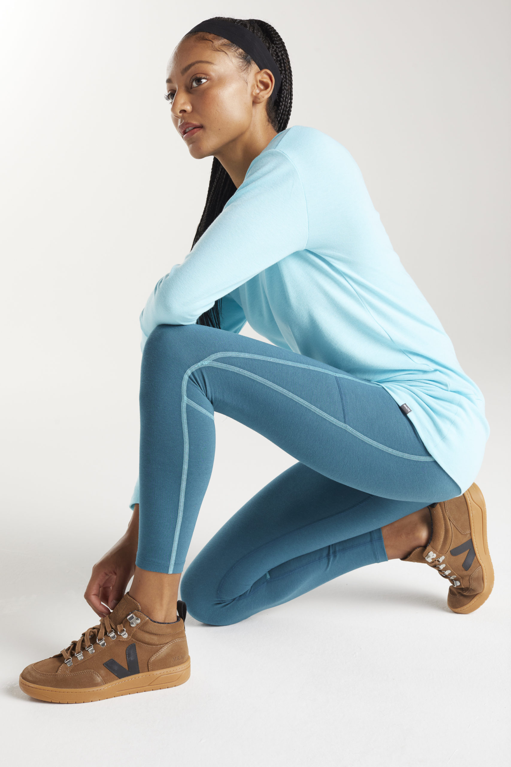 BAM Bamboo Clothing Enduro Leggings with Side Pocket