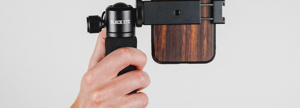 Black Eye Photo iPhone Case and Filming Grip