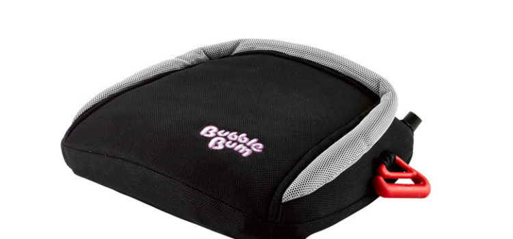 BubbleBum Inflatable Car Booster Seat, Twin Bundle
