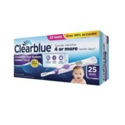 ClearBlue Digital Ovulation Test and Ovulation Test System Connected