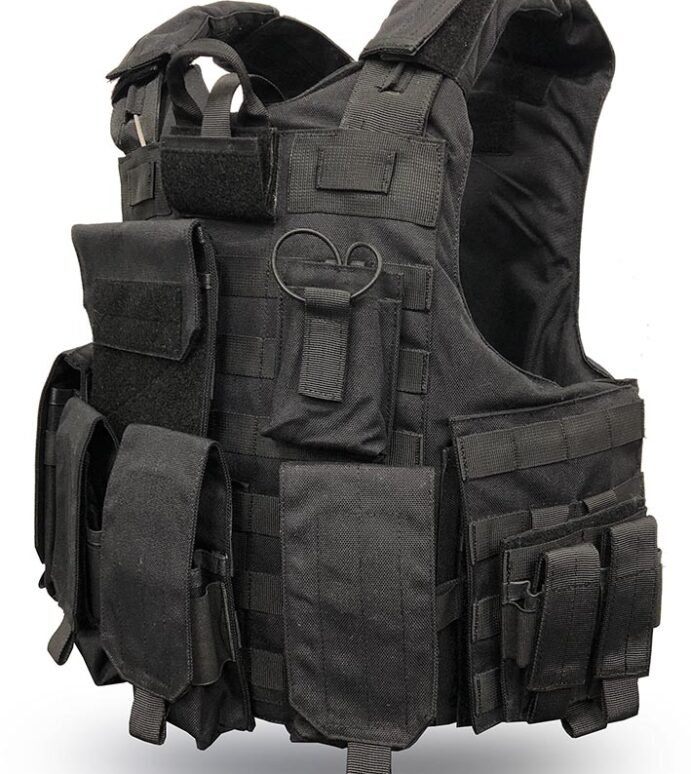 VestGuard Quick Release Xtreme Tactical Overt Body Armour Cover