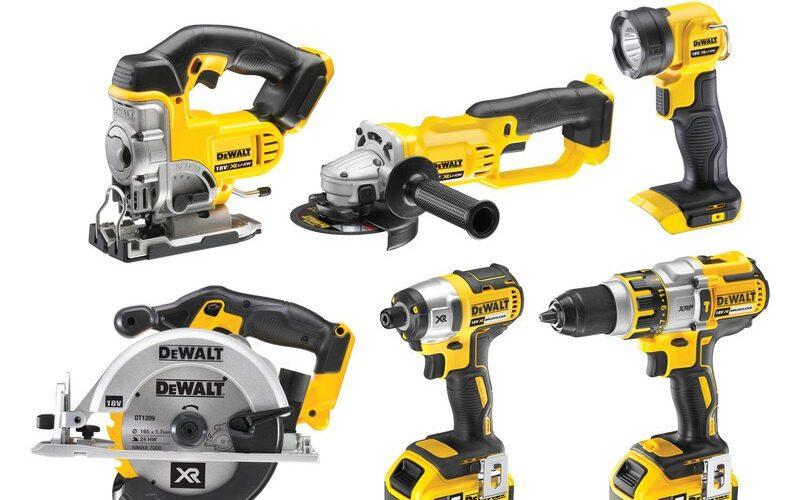 DeWalt DCK692M3 18V XR LI-ION 6 Kit