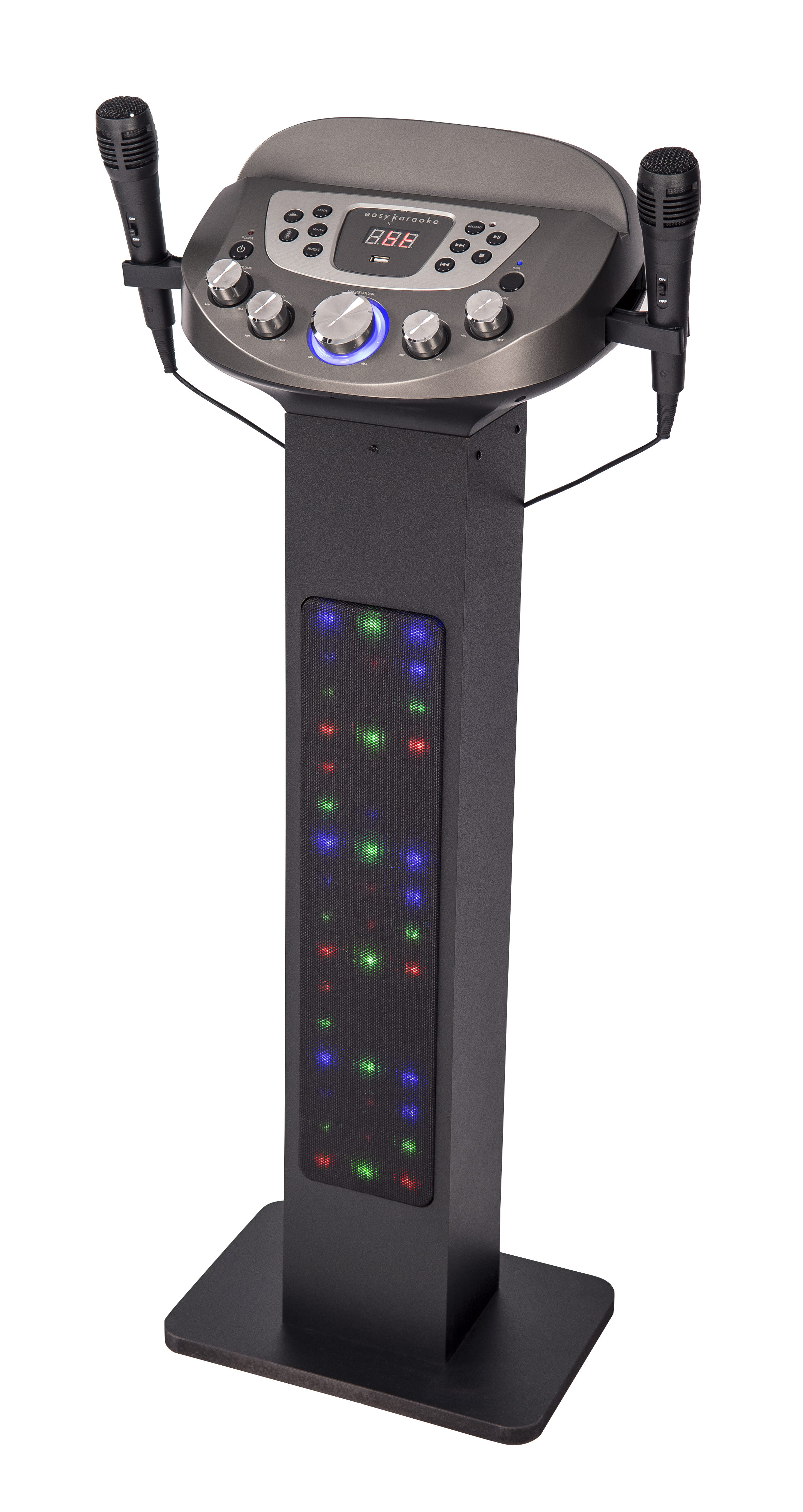 Easy Karaoke EKS828BT Bluetooth Pedestal Karaoke Machine