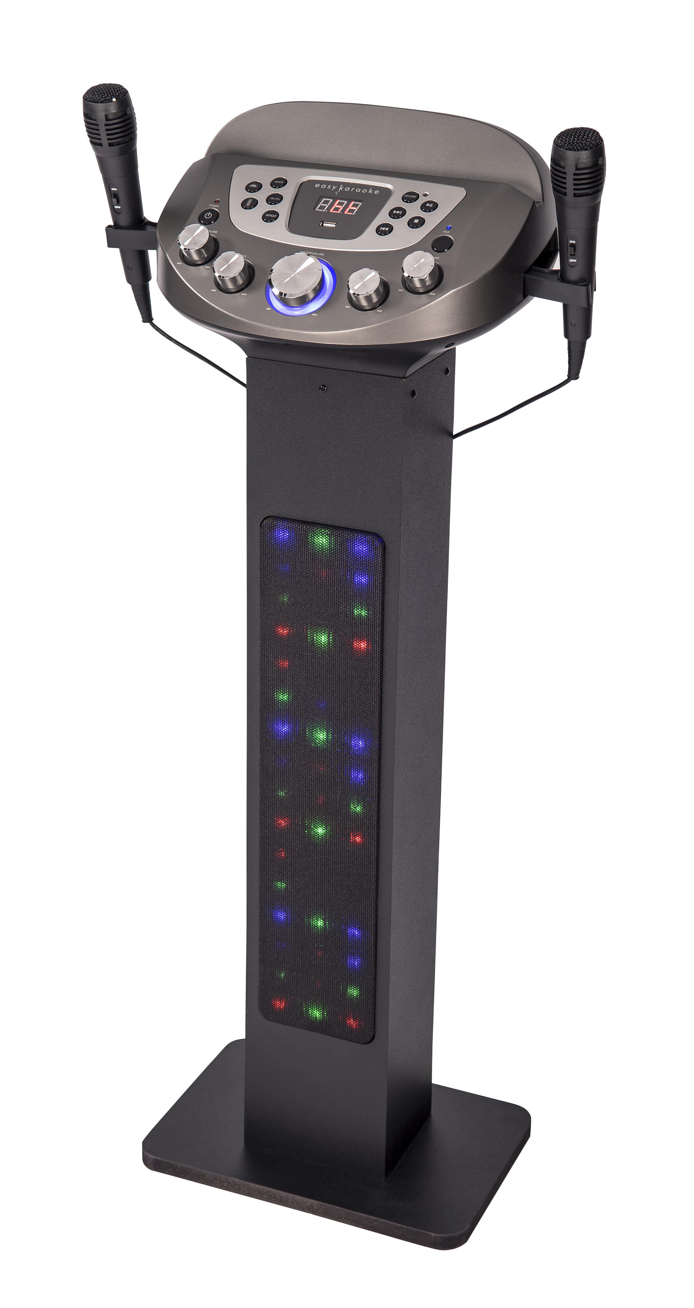 Easy Karaoke EKS828BT Bluetooth Pedestal Karaoke Machine