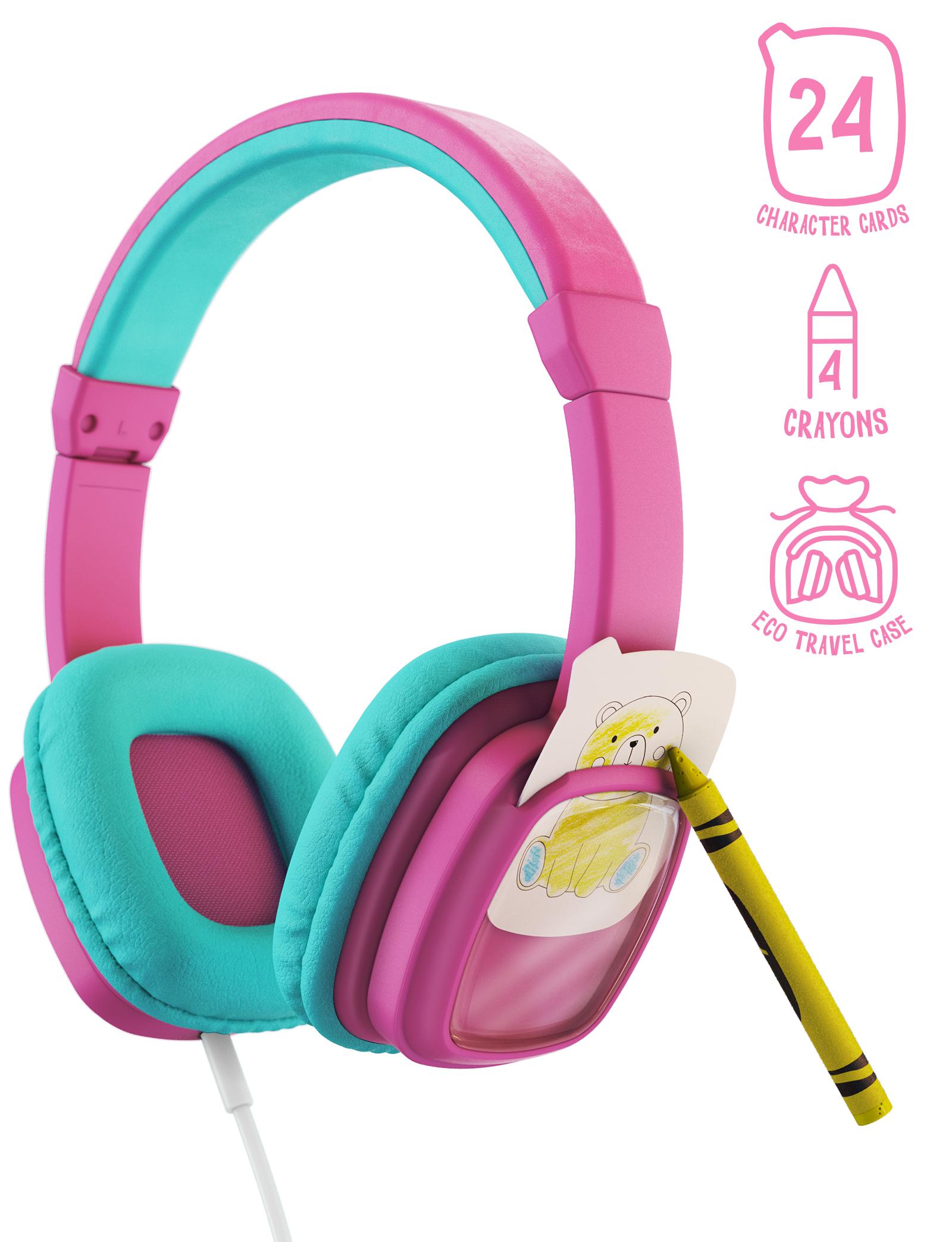 Planet Buddies Colour and Swap Kids Headphones