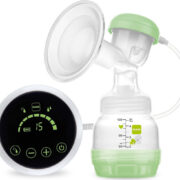 MAM Electric Single 2 in 1 Breast Pump with Rechargeable Battery