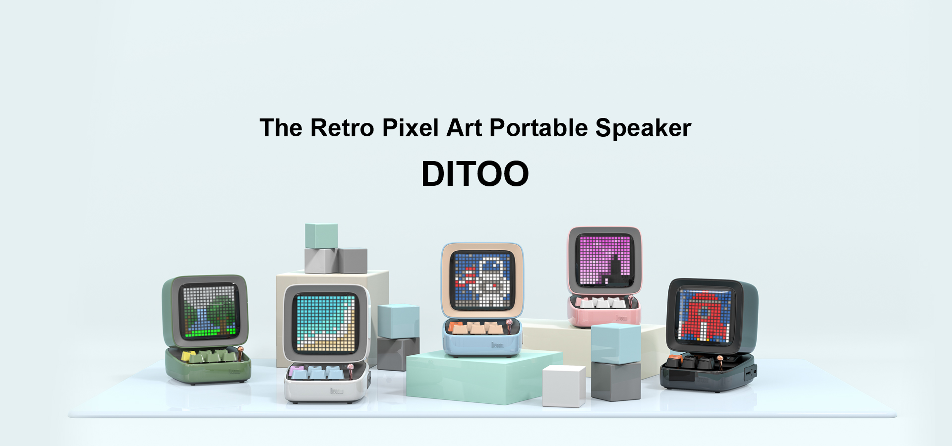 Divoom Ditoo Pixel Display Bluetooth Speaker