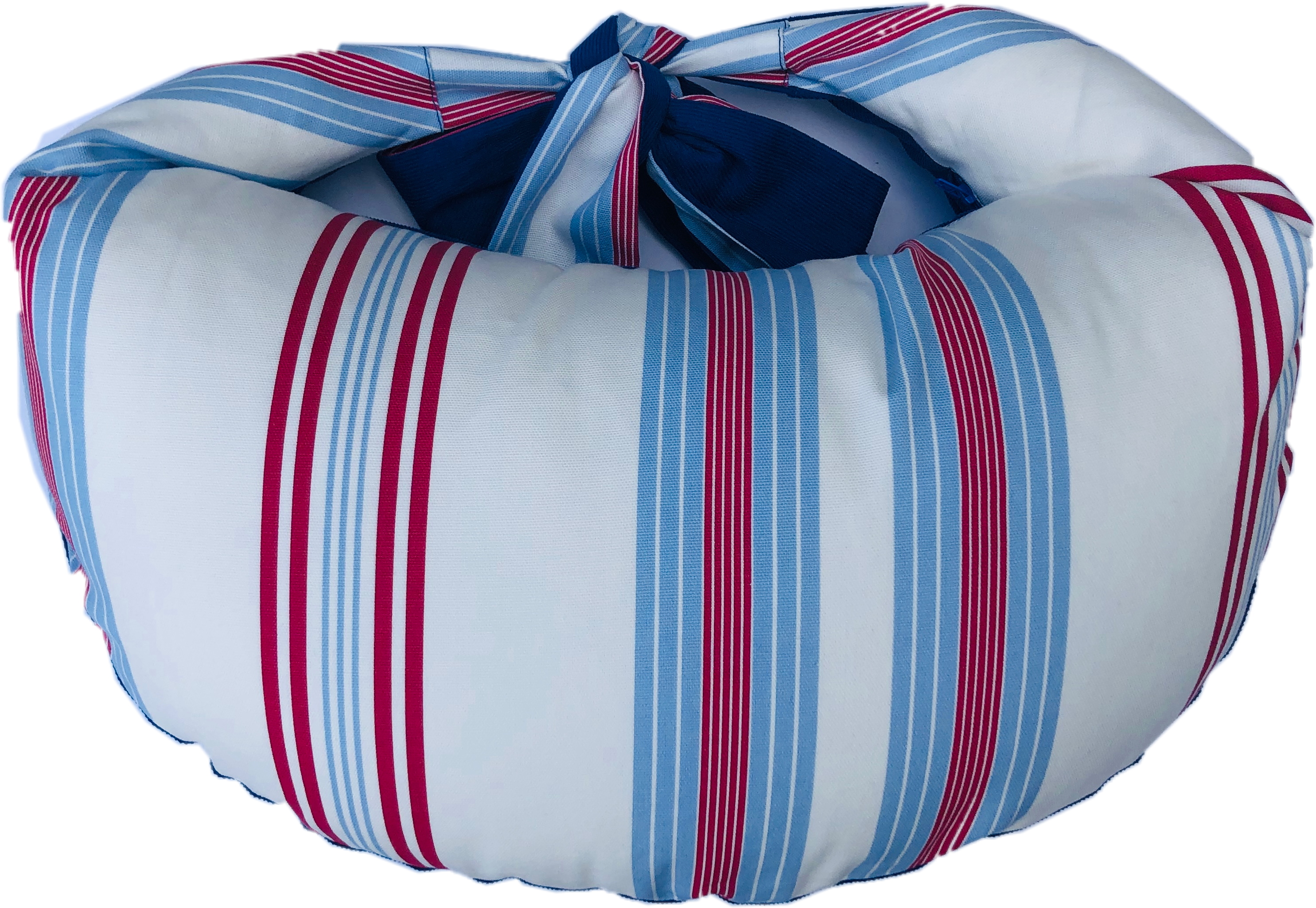 Thrupenny Bits Blue Stripe Nursing Pillow Ultimate Range