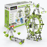 Engino Stem Amusement Park Set- London Eye and Ferris Wheel