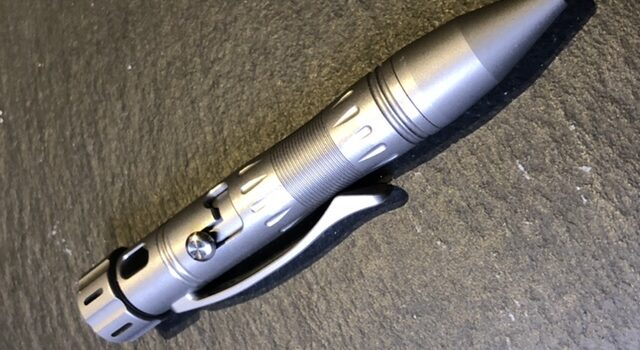 MecArmy TPX10 Titanium Bolt Action Tactical Pen